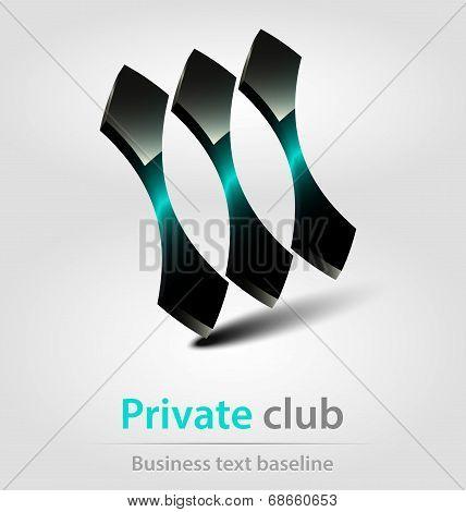 Private Club Business Icon