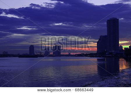Landscape Of Bangkok