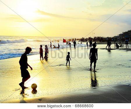 Bali Beach Activity