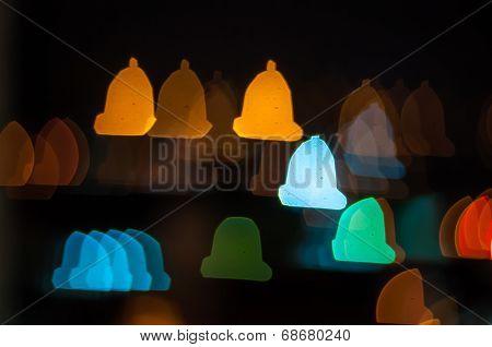 Bell bokeh shape