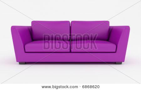 Purple Modern Couch