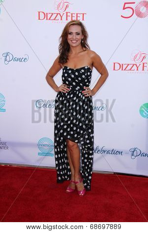 LOS ANGELES - JUL 19:  Anya Garnis at the 4th Annual Celebration of Dance Gala at Dorothy Chandler Pavilion on July 19, 2014 in Los Angeles, CA