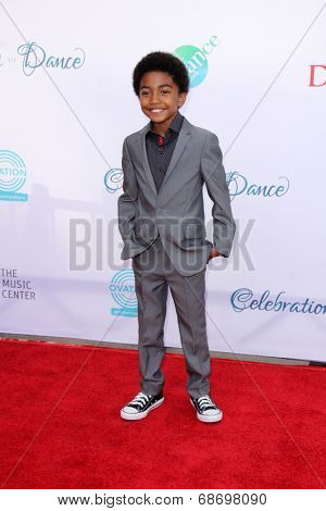 LOS ANGELES - JUL 19:  Miles Brown at the 4th Annual Celebration of Dance Gala at Dorothy Chandler Pavilion on July 19, 2014 in Los Angeles, CA