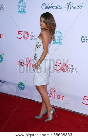 LOS ANGELES - JUL 19:  Sarah Hyland at the 4th Annual Celebration of Dance Gala at Dorothy Chandler Pavilion on July 19, 2014 in Los Angeles, CA