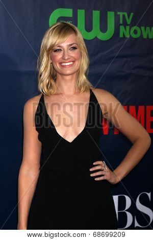 LOS ANGELES - JUL 17:  Beth Behrs at the CBS TCA July 2014 Party at the Pacific Design Center on July 17, 2014 in West Hollywood, CA