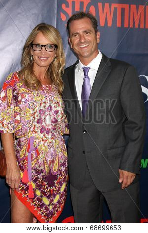LOS ANGELES - JUL 17:  Jennifer Berman, Jim Sears at the CBS TCA July 2014 Party at the Pacific Design Center on July 17, 2014 in West Hollywood, CA