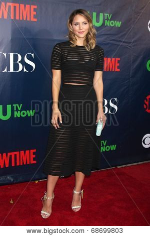 LOS ANGELES - JUL 17:  Katharine McPhee at the CBS TCA July 2014 Party at the Pacific Design Center on July 17, 2014 in West Hollywood, CA