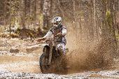 Постер, плакат: Motocross Dirt Driver
