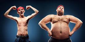 pic of body builder  - Funny body builders - JPG