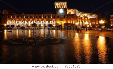 Yerevan, Republic Square.