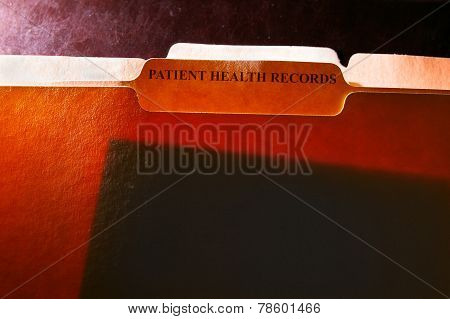 Health Records Folders