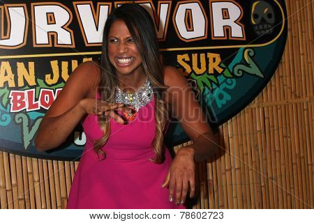LOS ANGELES - DEC 17:  Natalie Anderson, Winner Survivor San Juan Del Sur at the
