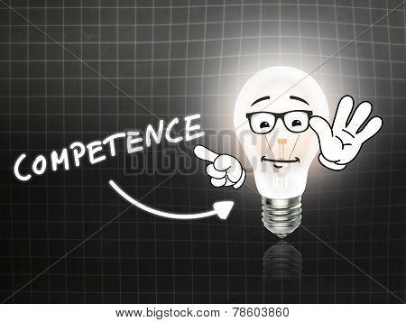 Competence Bulb Lamp Energy Light Blackboard