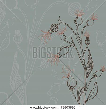 bur vector hand drawn graphic design illustration