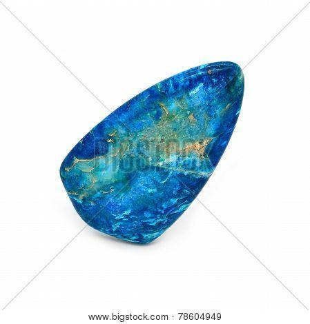 Sea Sediment Jasper In A Blue Color
