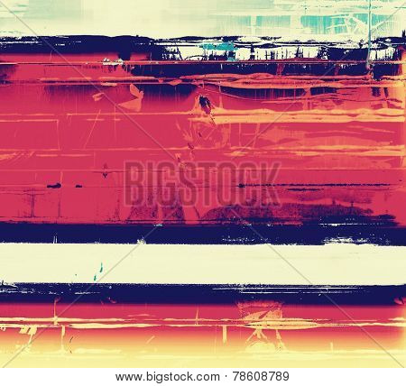 Old grunge textured background. With different color patterns: yellow; purple (violet); orange; blue; white