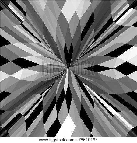 Vintage Hipster Geometric Pattern Background Vector