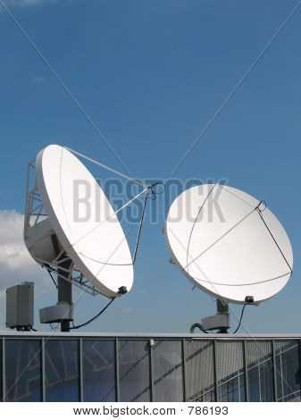 Commercial satellite antennas