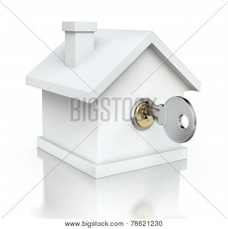 House with the key