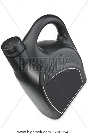 The Bottle Of Motor Oil