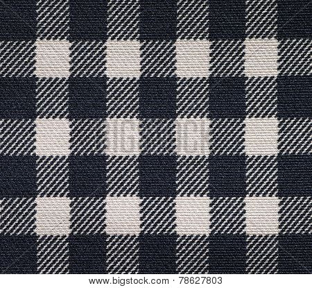 Black tablecloth fabric texture and seamless background