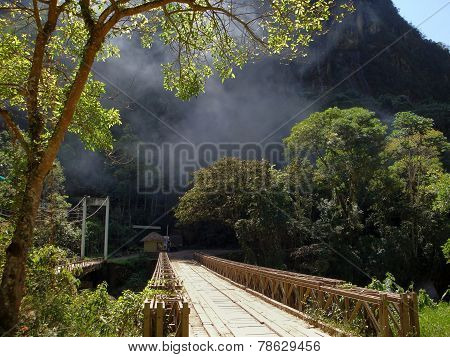 Bridge Near Machu Picchu