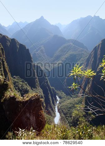 Andes Scenery Around Machu Picchu