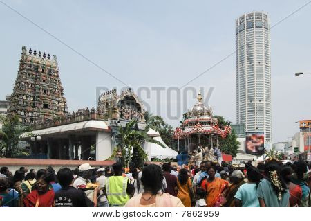 Thaipusam Procession In Penang