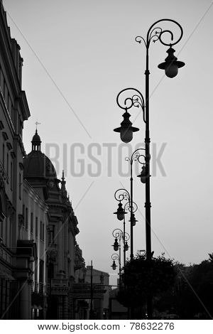 Street Of Old Town Lublin