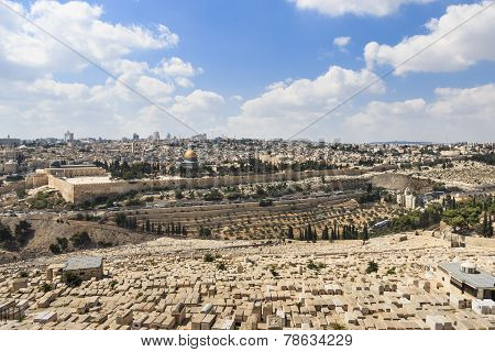 View of East Jerusalem