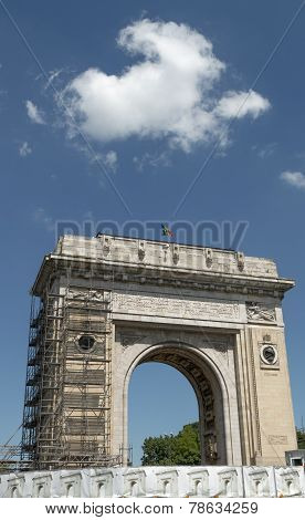 Triumph Arch - Bucharest, Romania