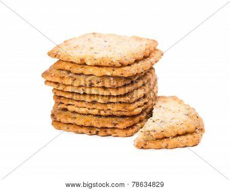 Crispy Cookies With Sugar