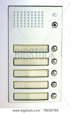 Doorbell Whitout Name