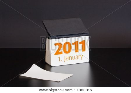 2011 Year Calendar, First January