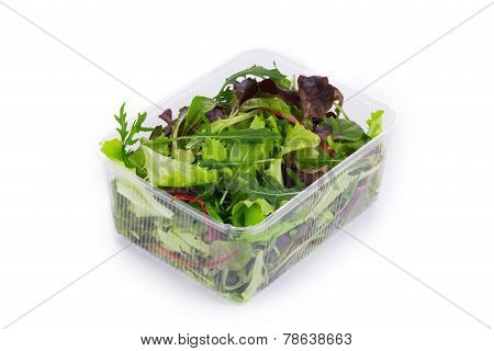 Salad mix in a box.