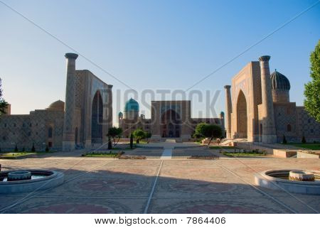 Registan Square. Samarkand
