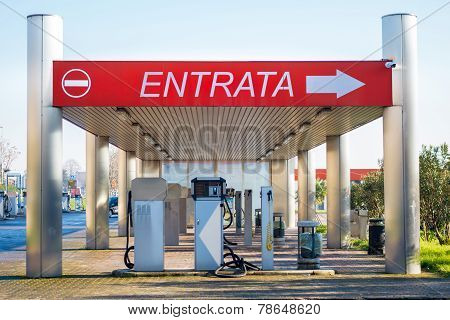 Car washing station