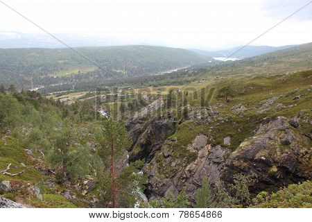 National Park in Norway. Landscape.