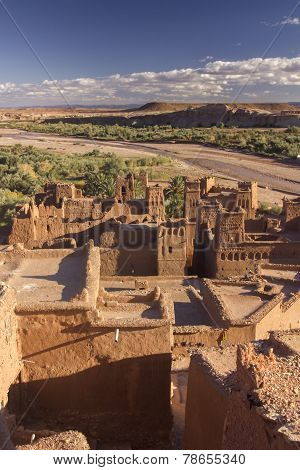 Landscape Around Ait Benhaddou