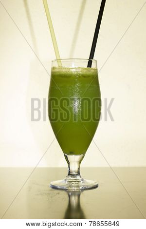 Green Cocktail For St. Patrick's Day