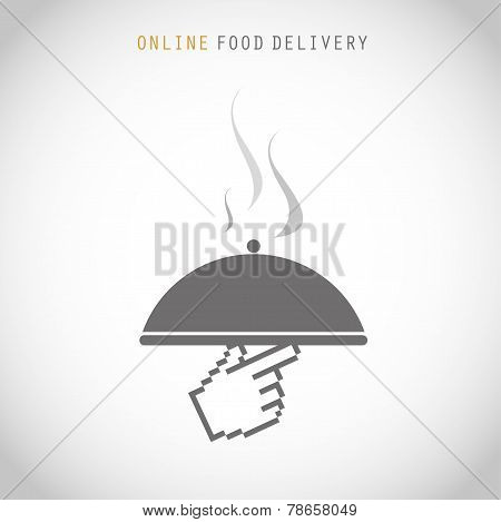 Courier online food delivery
