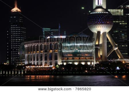 Pudong, financial center of Shanghai