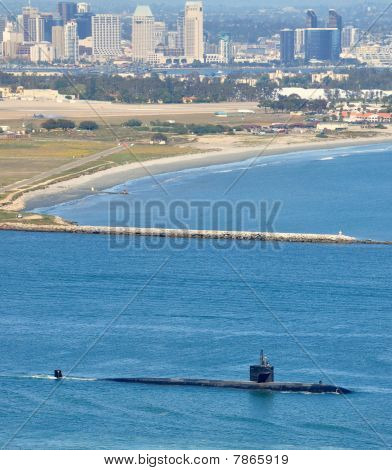 SSN Los Angeles Class Attack Submarine