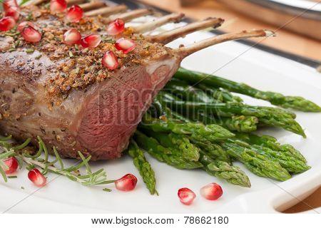 Herb Crusted Rack Of Lamb