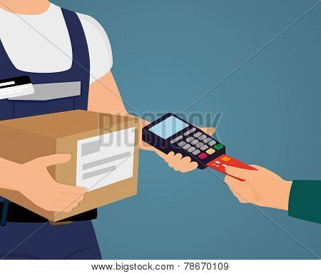 Payment by credit card