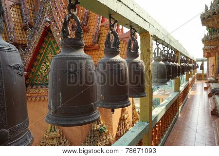 Line Up Of Monastic Bell