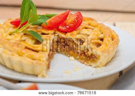 Home Made Beef Pie