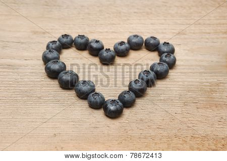 Heart Of Bilberries