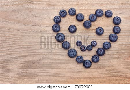 Smile Heart Of Bilberries