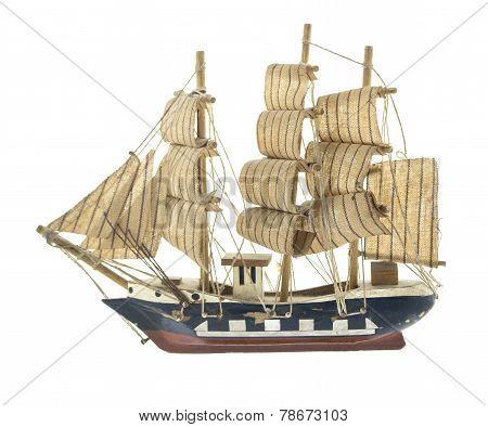 Frigate Ship Toy Model